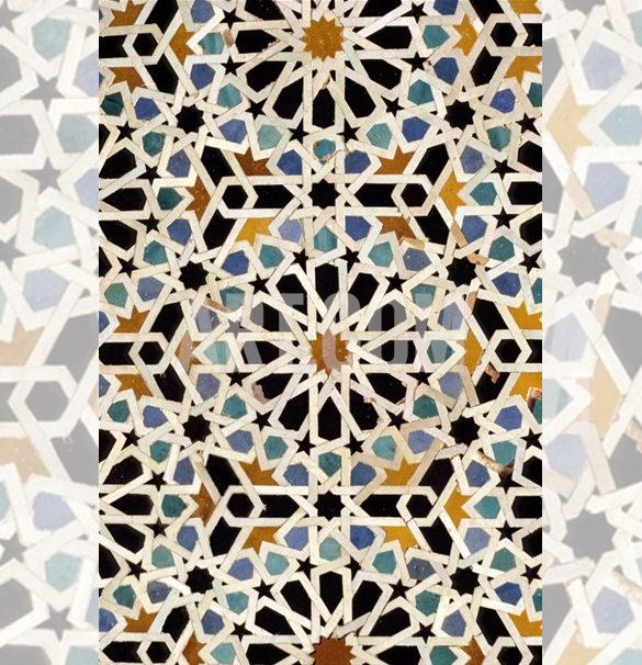 charles cecil fez morocco geometric artwork