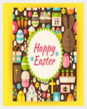 Sample of Easter Brochure