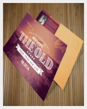 Easter Postcard Sample PSD Template