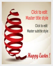 Happy Easter PowerPoint Sample Template Free