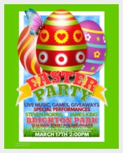 Sample Easter Party Poster