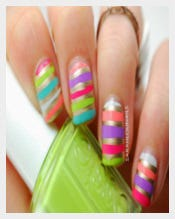 Victoria's Secret Bikini Nails Design
