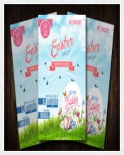 Professional Easter Flyer
