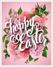 Easter Poster EPS Template