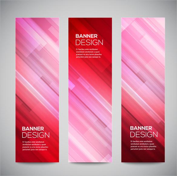 digital vertical banner
