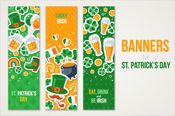 irish vertical banner