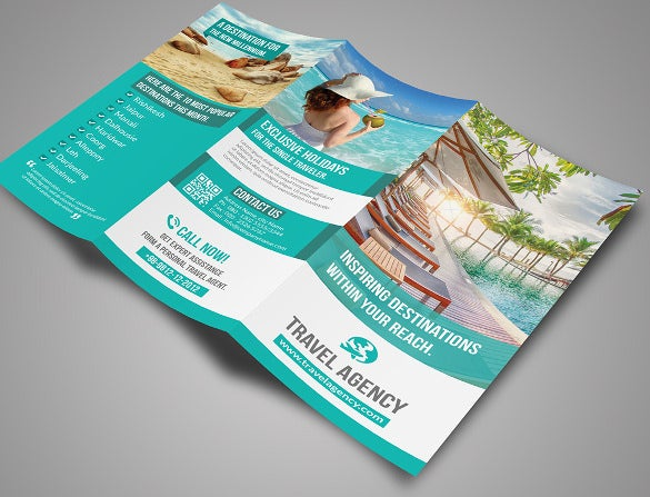 professional travel brochure template