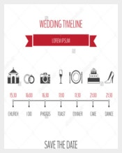 Simple Wedding Timeline Template
