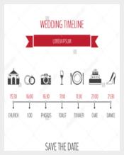 Simple Wedding Timeline Template