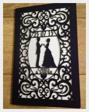 Laser Cut Wedding Card Design