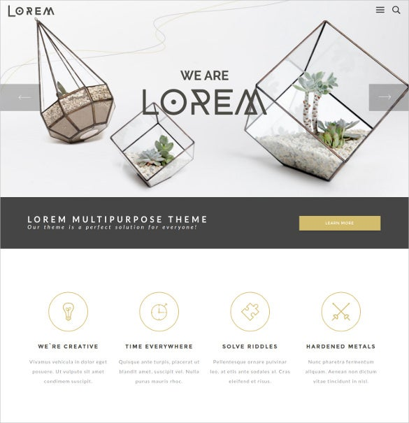 lorem creative art business multipurpose wordpress theme