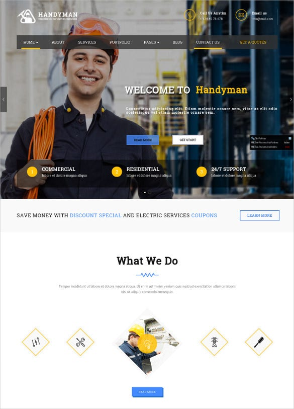 responsiveengineering wordpress website theme