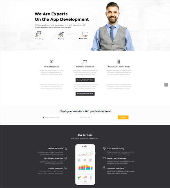 smartweb seo marketing wordpress theme