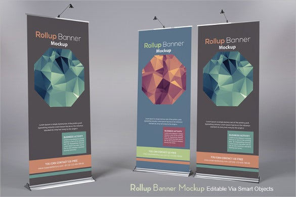 display rollup banner