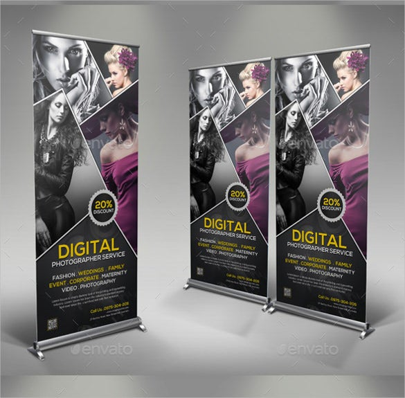 poster rollup banner