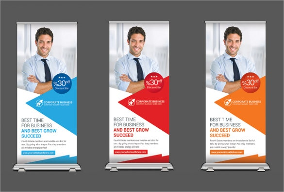 Rollup Banner – 21+ Free PSD, AI, Vector EPS, Illustrator Format ...