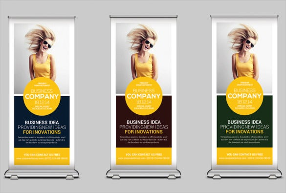rollup banner 24 free psd ai vector eps illustrator. Black Bedroom Furniture Sets. Home Design Ideas