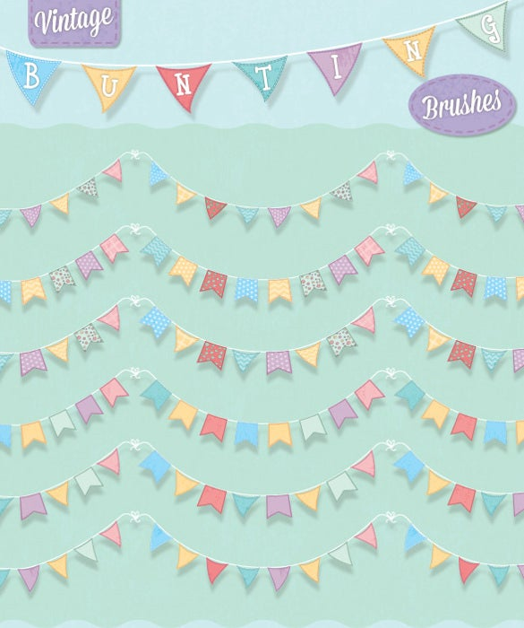 vintage bridal shower banner