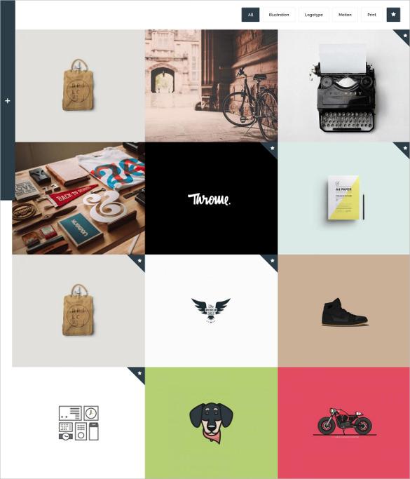 flying interactive drupal portfolio theme
