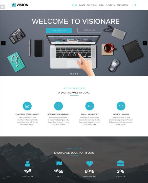vision multipurpose drupal theme