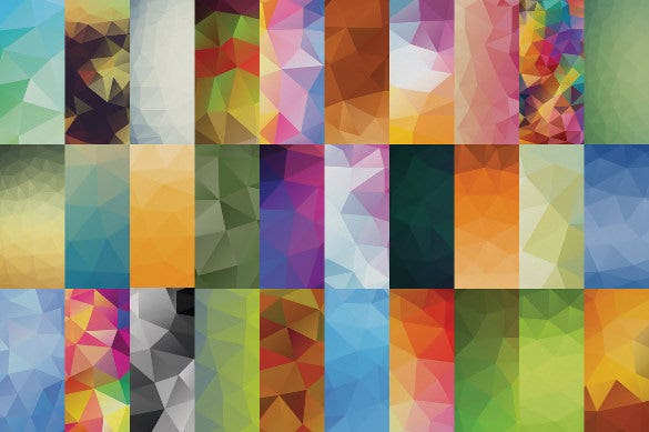 60 high definition geometric backgrounds ai format
