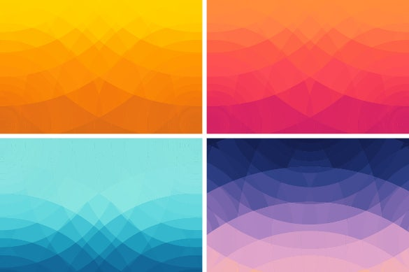 4 abstract geometric backgrounds eps