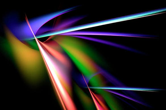 laser light show geometric background