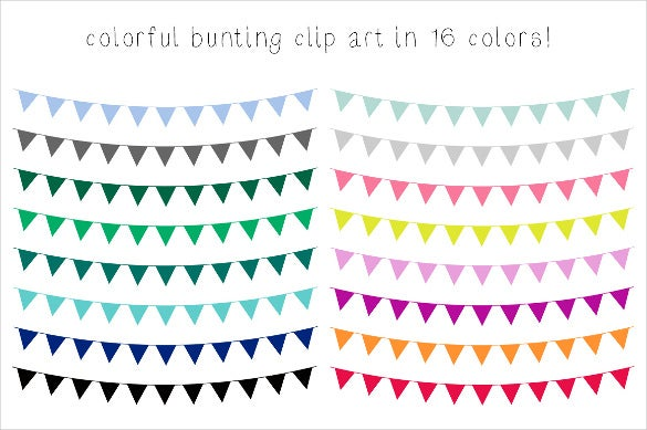 colorful bridal shower banner