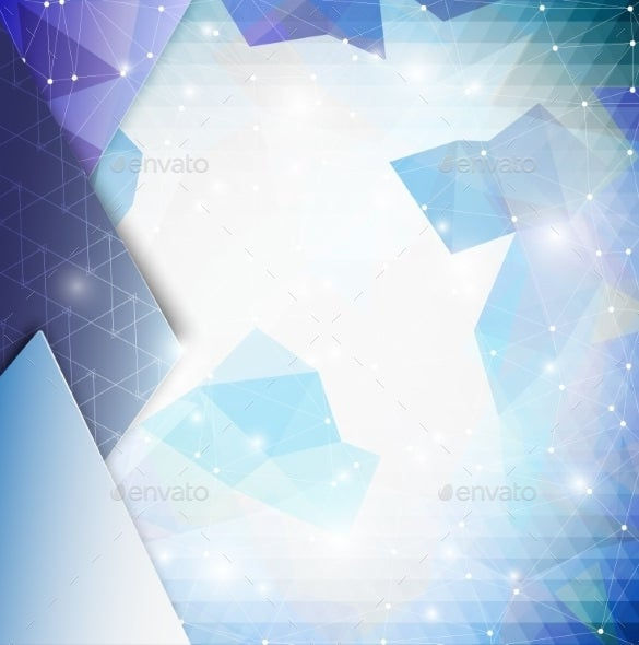 blue geometric triangle background download