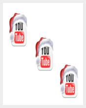Christmas Theme Youtube Icon