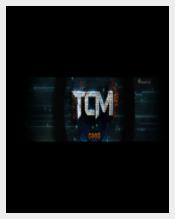 Black Background Youtube Header
