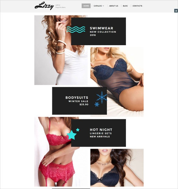 lizzy virtuemart blog template