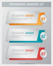 Infographic Banner Set Template download