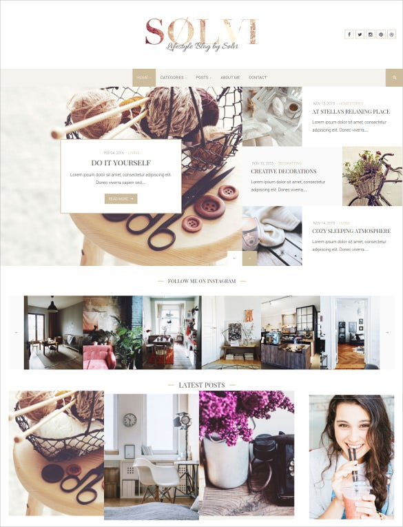 sølvi an elegant lifestyle wordpress blog theme1