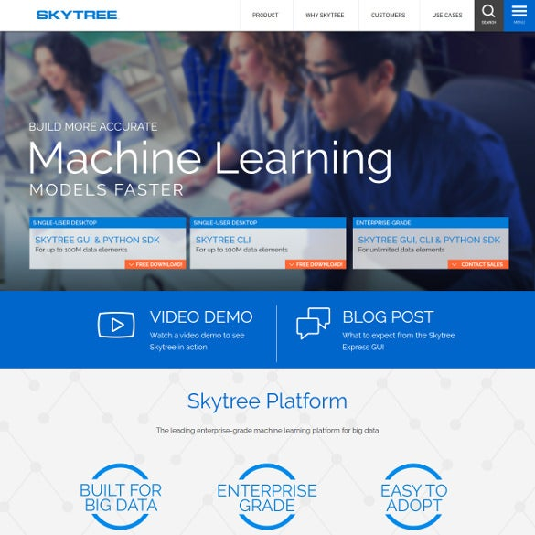 skytree server big data tool