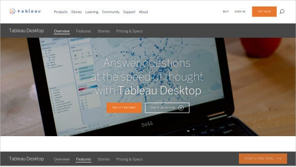 tableau desktop and server tool