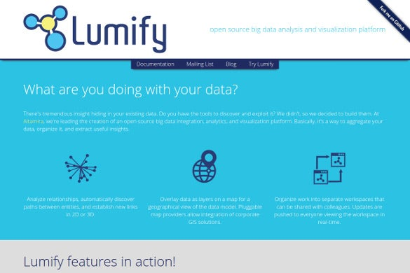 lumify open source big data tool