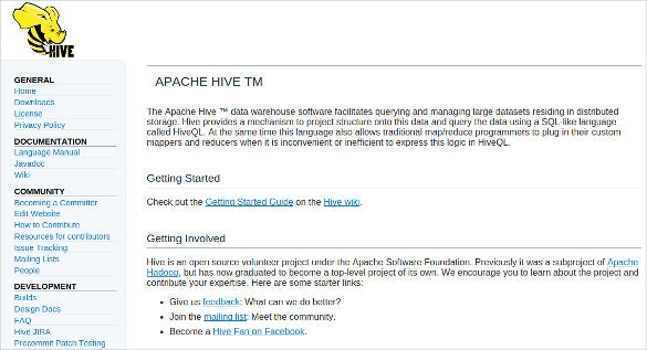 hive apache big data analysis tool download