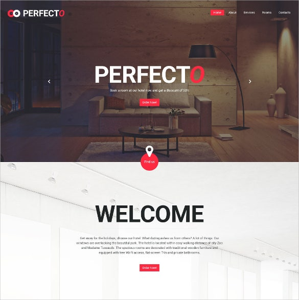 perfecto html5 website template