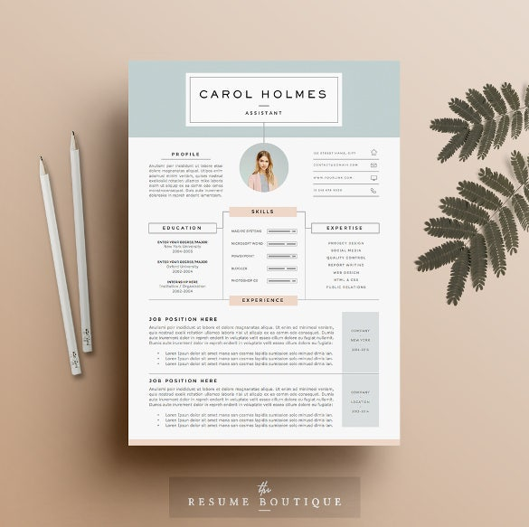 download infographic resume template 4 page doc - Resume Template Doc