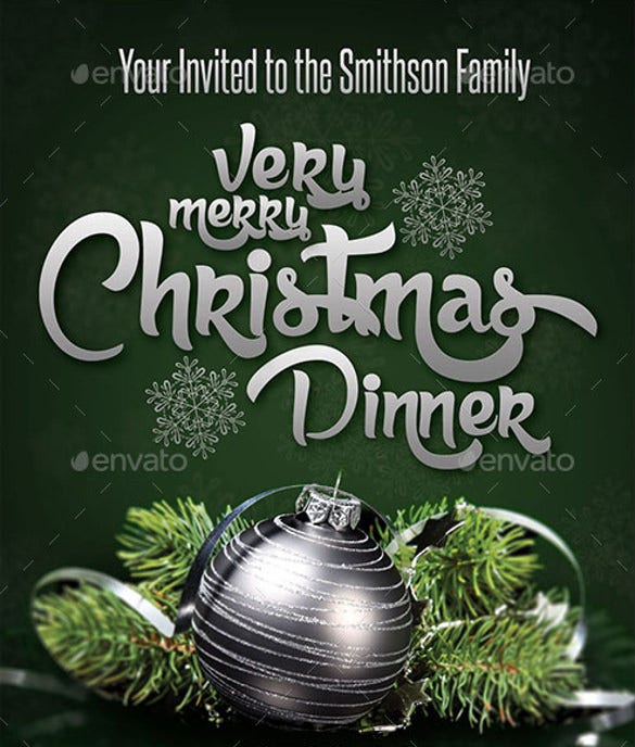 family or company get together invitation