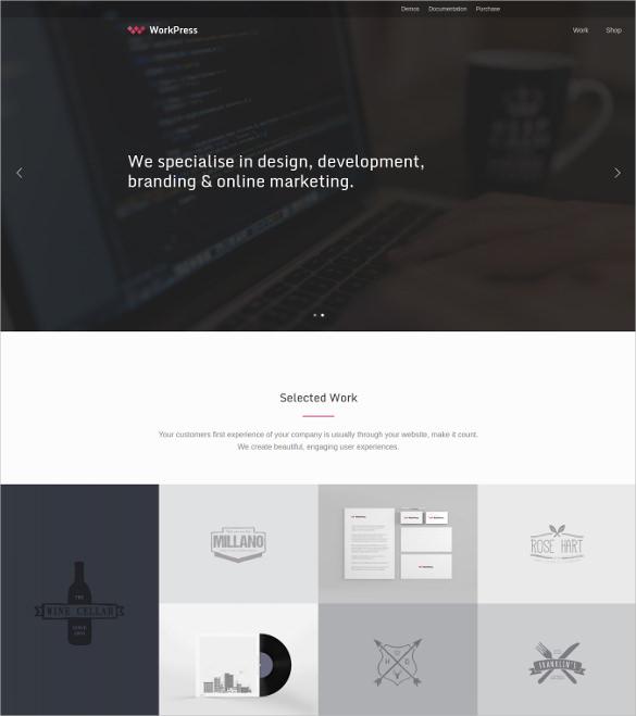 workpress responsive html5 wordpress theme