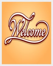 Greeting Welcome Banner Template Download