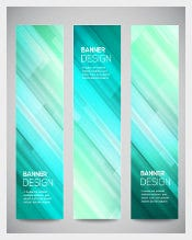Glowing Banner Design Template Download