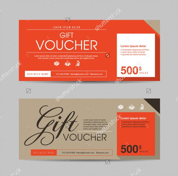 This Colorful Gift Voucher Template In Vector Format Is Available In High  Resolution. No Matter At What Size You Want To Print, The Image Quality  Will ...  Gift Vouchers Templates