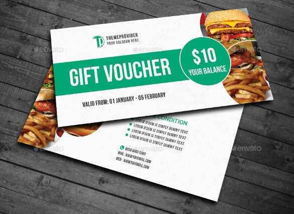 gift voucher vector eps ai illustrator template download