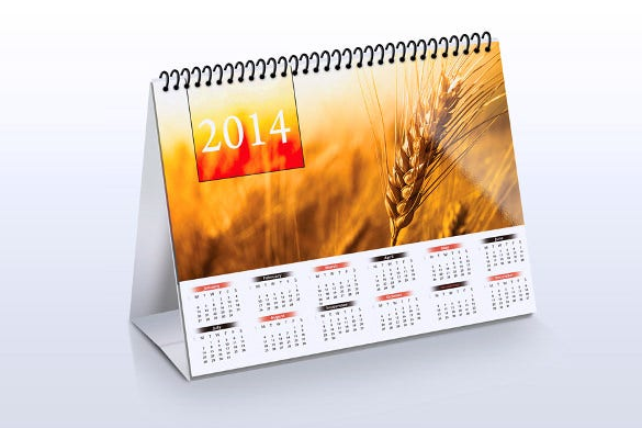 Desk Calendar Template 30 Free Psd Ai Indesign Eps Formats