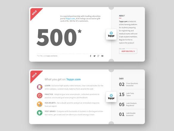 22 Gift Voucher Templates Free PSD EPD Format Download – Voucher Card Template