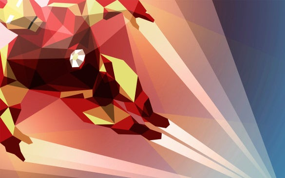 geometric shapes artwork wallpaper download