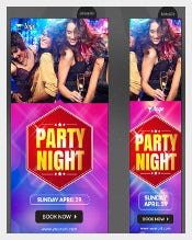 Night Club Party Banner Download